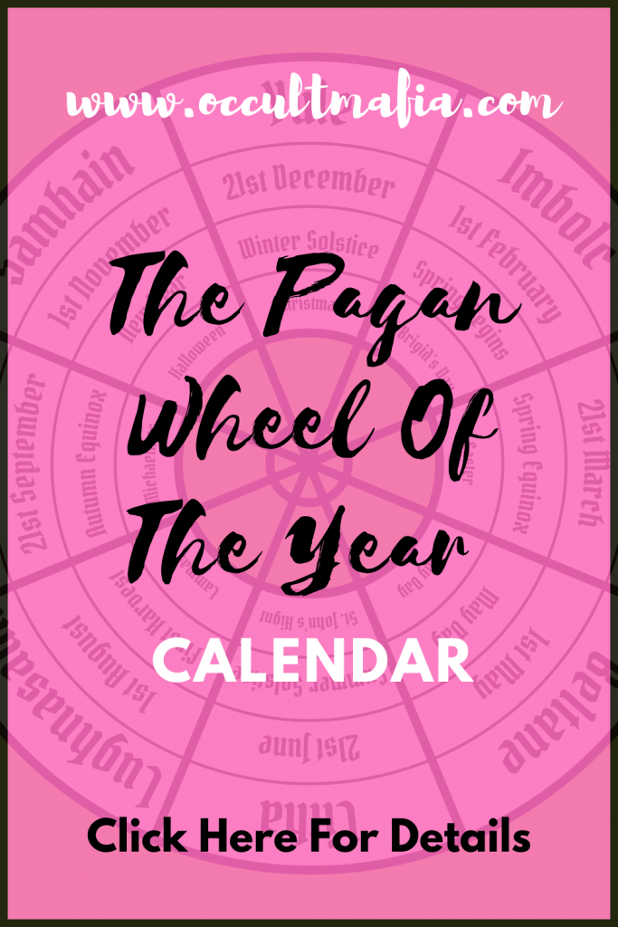The Pagan Wheel Of The Year